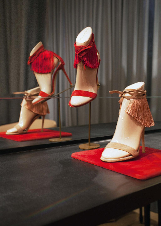 Gianvito Rossi showroom Nicole Fuller commercial retail interior designer-16