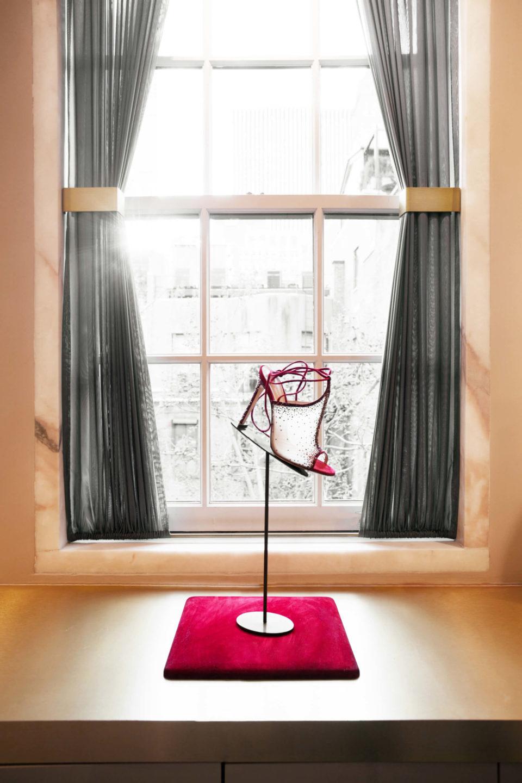 Gianvito Rossi showroom Nicole Fuller commercial retail interior designer-9