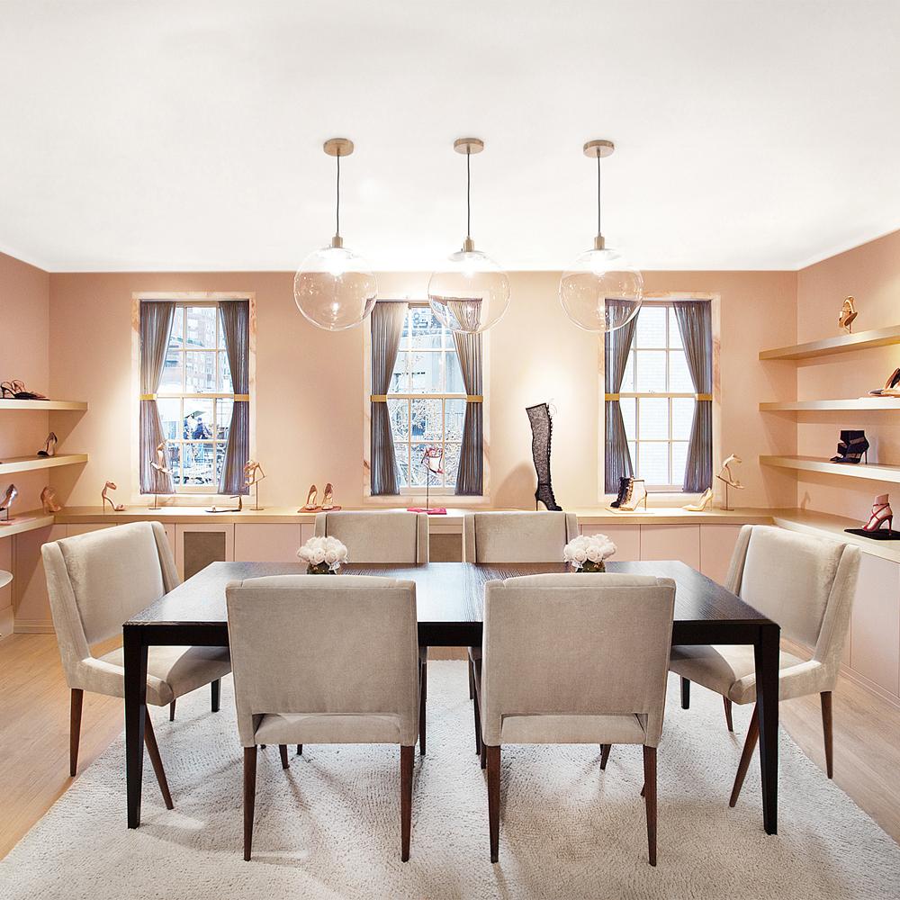 Gianvito Rossi showroom Nicole Fuller commercial retail interior designer