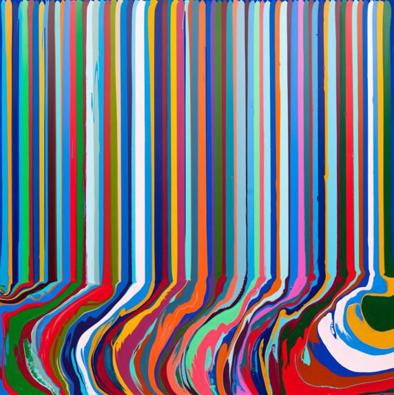 Ian-Davenport-Colourcade-Blue-nicole-fuller-art-advisory