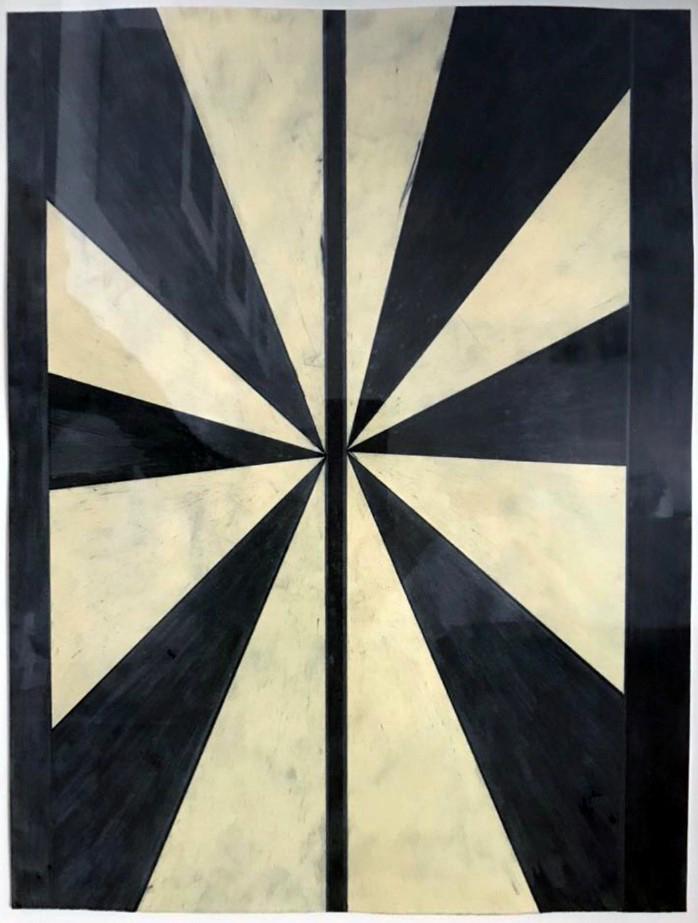 Mark-Grotjahn-Untitled-Black-and-Cream-Butterfly-nicole-fuller-art-advisory