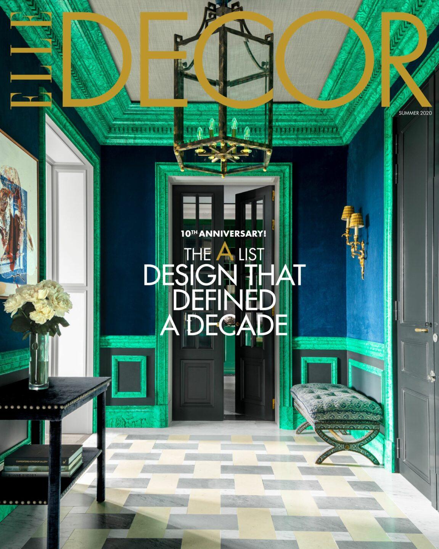 Elle decor A list 2020 cover use